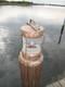 copper dock light