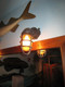 custom patina antiqued bronze finish passageway light