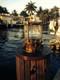 Bronze piling pier nautical dock light