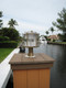 large dock pedestal light