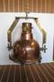 copper nautical decor hanging light