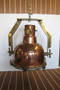 copper nautical decor hanging light