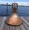 copper cargo ship light