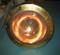 polished copper cargo light