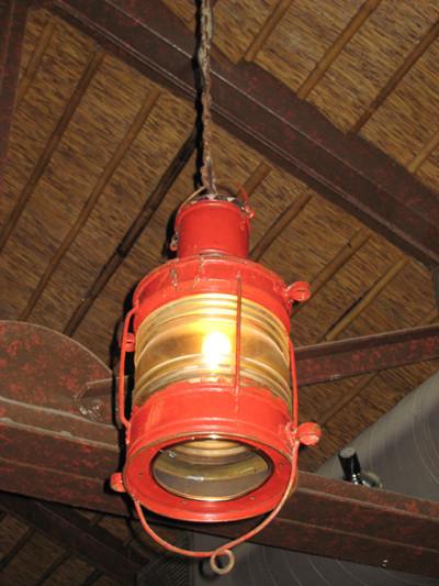 vintage anchor ship light