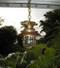 US Navy hanging nautical light