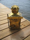 brass masthead nautical ship light- shown with optional wall mount brackets