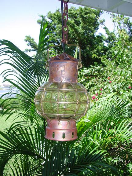 marine onion globe nautical light