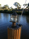 key west patina piling dock light