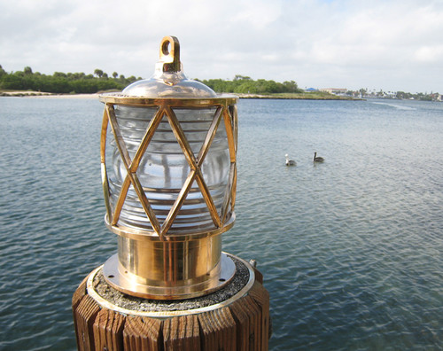 European nautical dock light