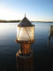 US Coast Guard style bronze dock light