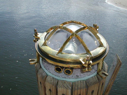 vintage nautical bulkhead light