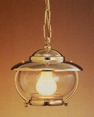 hanging brass nautical light