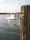 brass nautical dock light
