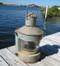 large galvanized masthead nautical light