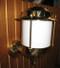 European brass wall nautical light