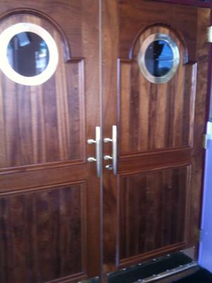 brass nautical door handle cleats & Marine Brass Nautical Door Pull Cleat - Heavy Duty - Dock Lights