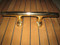 brass cleat door handle