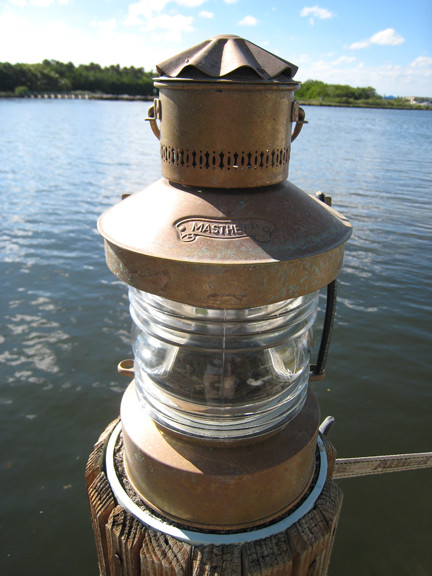 nautical masthead ship wall mounted light