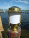 Coastal brass dock light