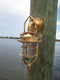 Nautical sconce marine dock light