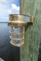 brass dock light
