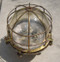 vintage brass nautical ship light