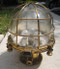 vintage brass nautical light