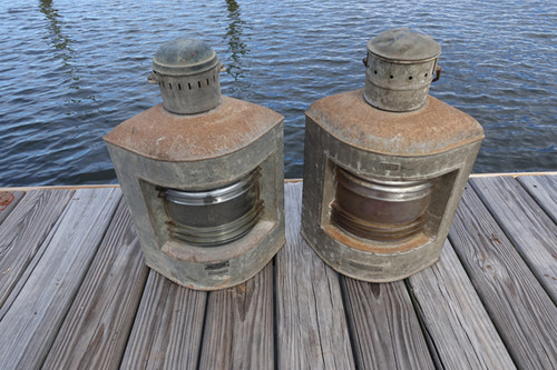 galvanized running ship lights