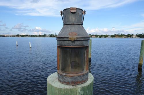 Old ship lantern