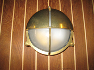 nautical hooded wall sconce