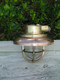 US Navy small copper nautical light