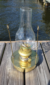 brass nautical decor oil pod