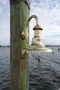 brass marina light