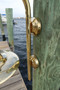 brass fisherman dock light mounting brackets