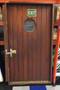 mahogany ship door