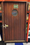 mahogany ship door