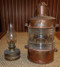 Vintage copper nautical anchor lantern