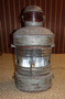 Large galvanized old ships light