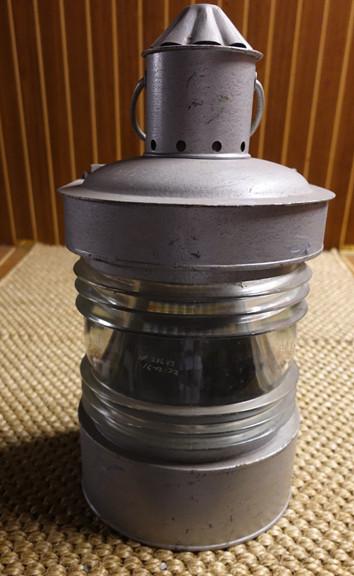 galvanized old ships lantern