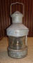 Nautical antique ship lantern