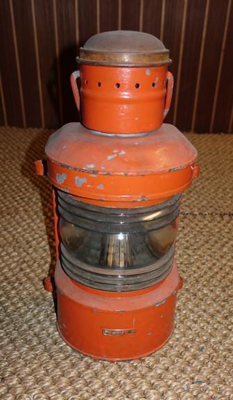 Vintage nautical masthead lantern