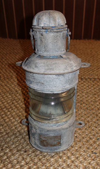 galvanized nautical ship light