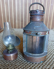 Vintage ships light- Hope Lee