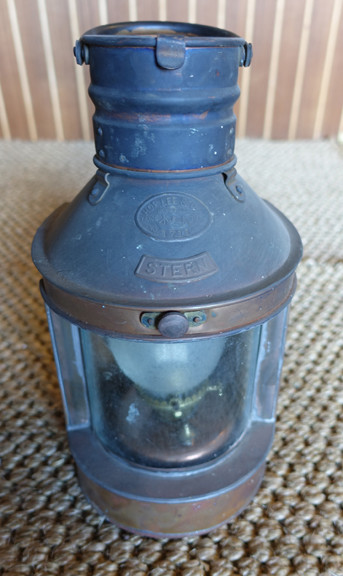 Hop Lee stern copper nautical lantern