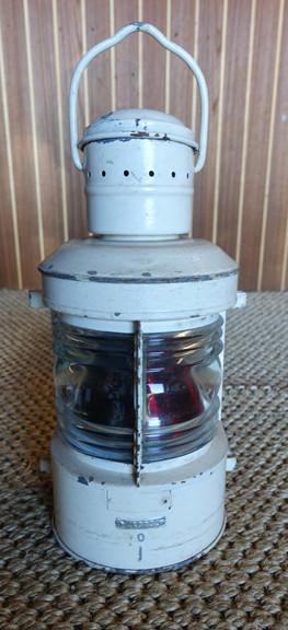 vintage bi-color nautical light