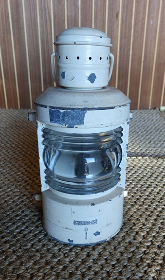 vintage rustic wall mounted nautical light