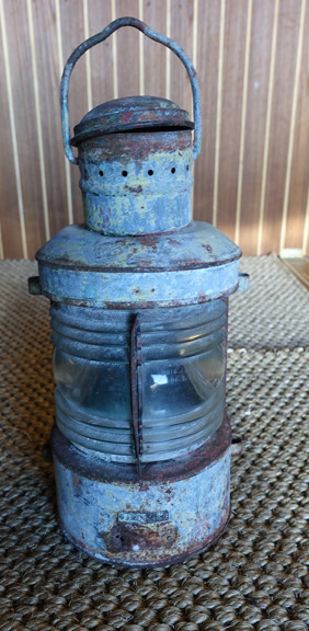 rustic vintage ship light