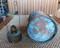 Patina nautical ships copper anchor lantern