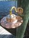 Copper sconce nautical light